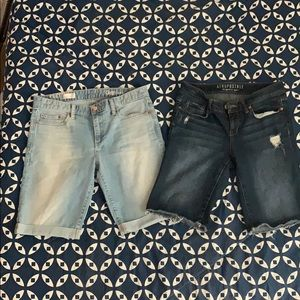 Women's size 8 & 29 Bermuda shorts lot
